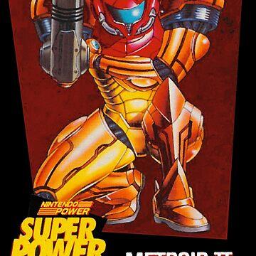 Metroid II - Samus Nintendo Power by TATSUHIRO