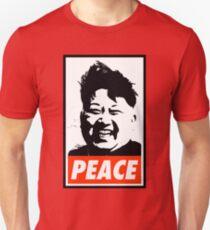 Kim Jong Un PEACE Unisex T-Shirt