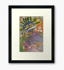 There's Death In Me Still Framed Print