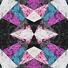 Marble Geometric Background G438 by MEDUSA GraphicART