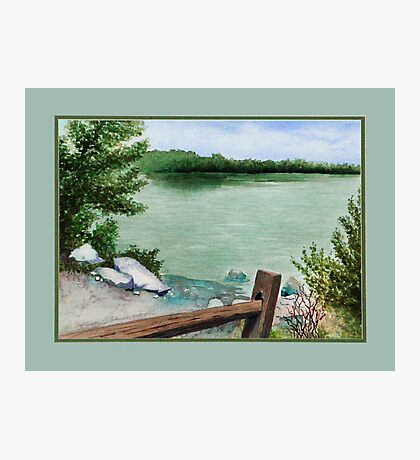 Lake Seminole Photographic Print