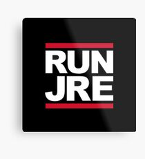Joe Rogan Run JRE - UK Delivery Metal Print