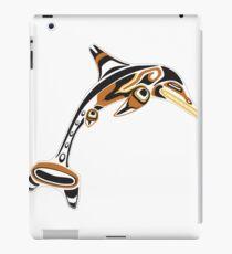 Kwakwaka'wakw ichthyosaur iPad Case/Skin
