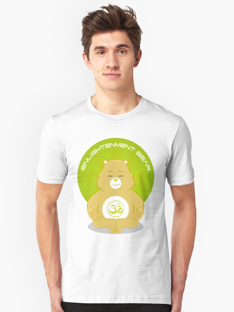 Enlightenment Bear Unisex T-Shirt Front