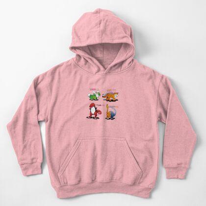 DINOMALS™: CUTESY Kids Pullover Hoodie