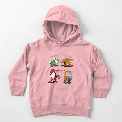 DINOMALS™: CUTESY Toddler Pullover Hoodie