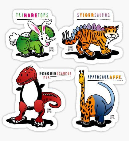 DINOMALS™: CUTESY Sticker