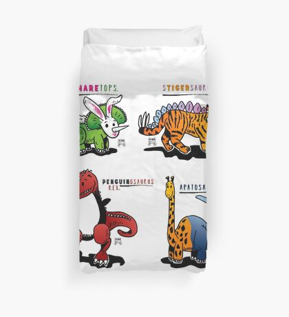 DINOMALS™: CUTESY Duvet Cover