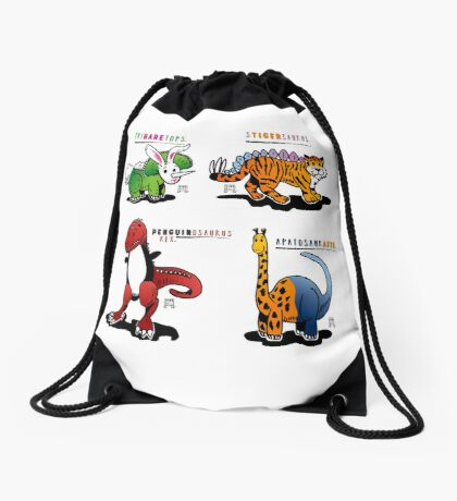 DINOMALS™: CUTESY Drawstring Bag