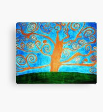 tree of vision Canvas Print