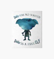 Dobby is a Free Elf Art Board