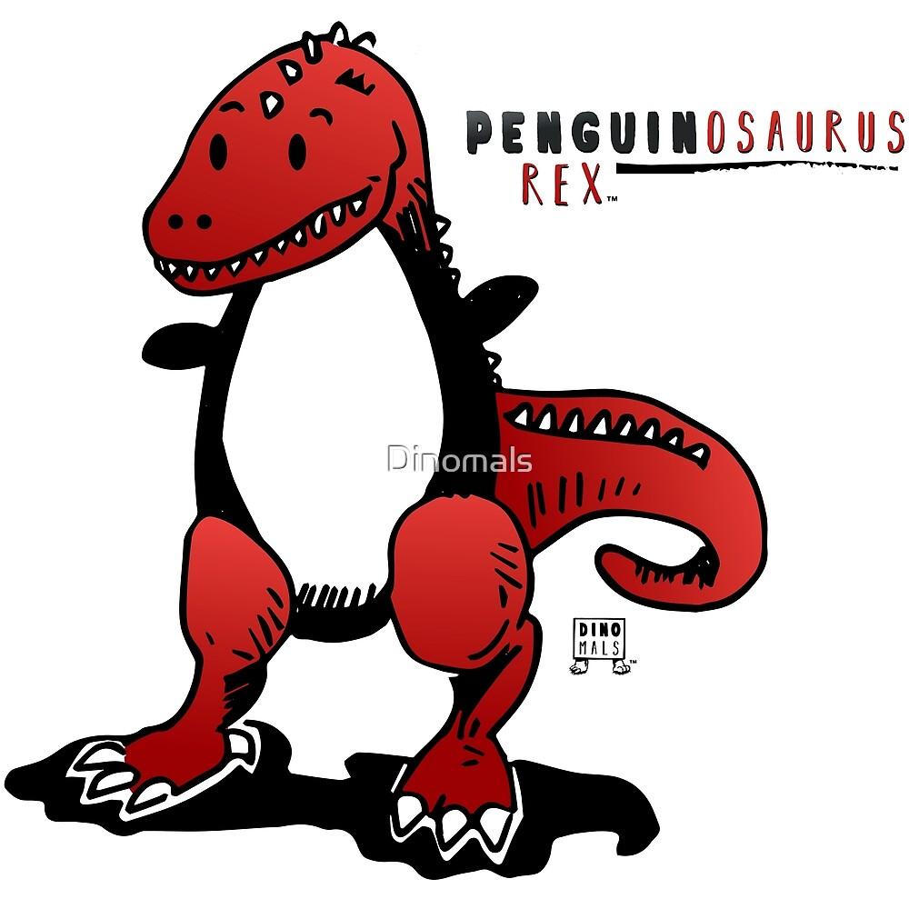 PENGUINOSAURUS REX™ by Dinomals