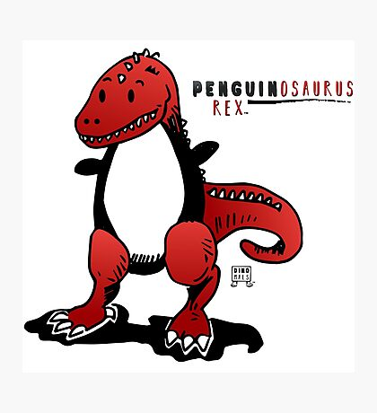 PENGUINOSAURUS REX™ Photographic Print