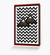 Twin Peaks Greeting Card