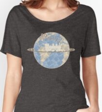 Around the World in 80 Days - Earth Women's Relaxed Fit T-Shirt