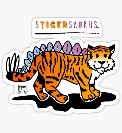 STIGERSAURUS™ Sticker