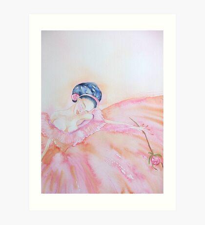 Curtain Call 'Le Belle Ballerine' © Patricia  Vannucci2008 Art Print