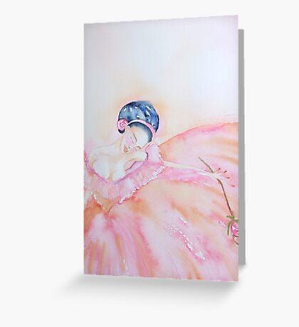 Curtain Call 'Le Belle Ballerine' © Patricia  Vannucci2008 Greeting Card