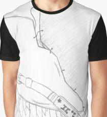 Winged Broken Heart Graphic T-Shirt