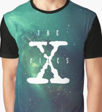 X Files Galaxy (Green)  Graphic T-Shirt