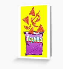 Spicy Nachos -  Junkies Collection Greeting Card