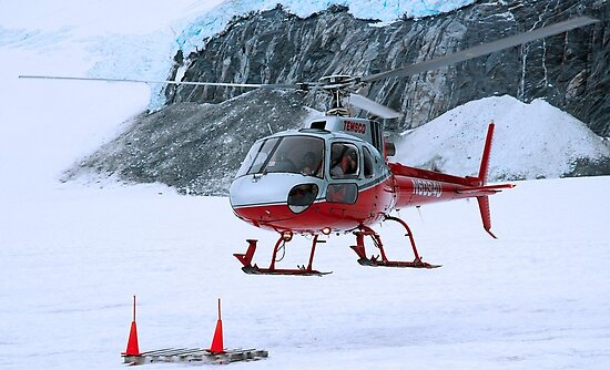 Helicopter In Antarctica  by prodesigner2