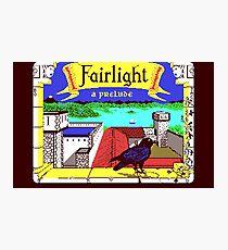 Fairlight (C64 Title Screen) Photographic Print