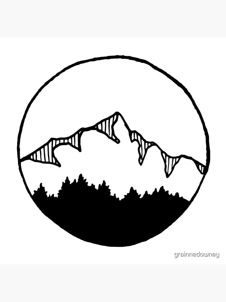 Mountain by grainnedowney