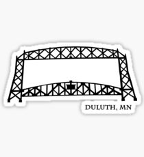 Duluth, MN Aerial Lift Bridge Sticker