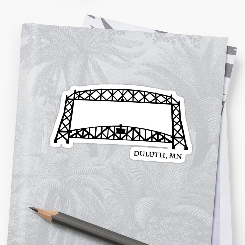 Duluth, MN-Hubbrücke\