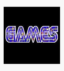 Games Photographic Print