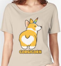Corgicorn Women's Relaxed Fit T-Shirt