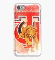 Tuskegee University Rustic Watercolor Logo iPhone Case/Skin