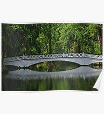 Magnolia Plantation Bridge Poster