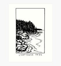 Lighthouse Park Art Print