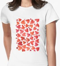 Very Much Love Womens Fitted T-Shirt
