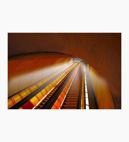Tripping at Dupont Station Photographic Print
