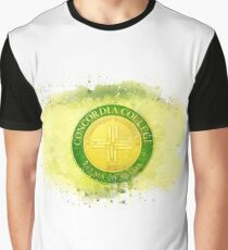 Concordia College-Selma Rustic Watercolor Logo Graphic T-Shirt