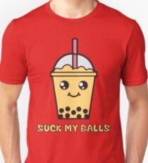 Suck My Balls - Funny Bubble Tea (Mango) Unisex T-Shirt