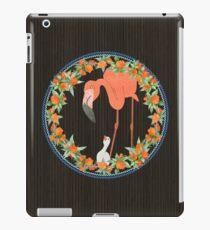 Flamingo wreath iPad Case/Skin