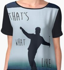 that's what i like bruno design Chiffon Top