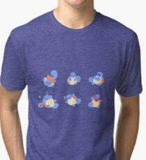 Squirtles Pokemon Tri-blend T-Shirt