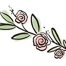 Roses Sticker by grainnedowney
