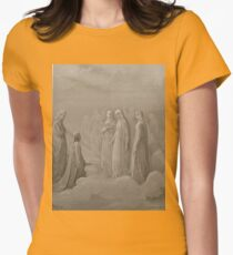 Gustave Dore or Doré  Dante Divine Comedy Paradise 010 Womens Fitted T-Shirt
