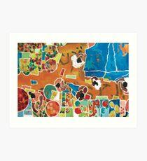 Market Denpasar Art Print