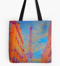 Electric Eiffel Tote Bag