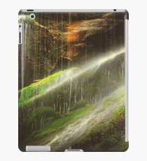 Waterfall In A Cave iPad Case/Skin