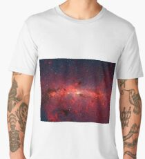 The Milky Way in Infrared Men's Premium T-Shirt
