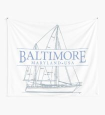 Baltimore Maryland Wall Tapestry