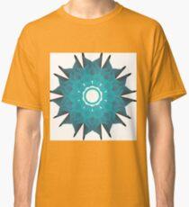 Flower Power in Blue Classic T-Shirt